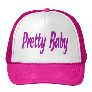 pretty baby trucker hat