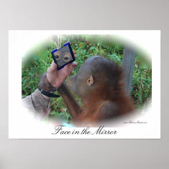 Pretty Baby Orangutan poster