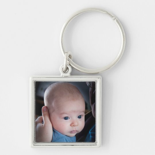 Pretty Baby Photo Key Chain