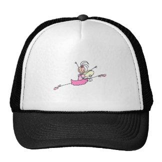 Pretty Ballerina Stick Figure Hat