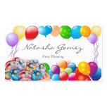Pretty Balloon, Party Planner - Business Card