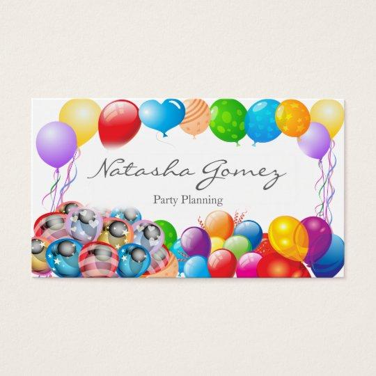 Party Business Cards Elitadearest