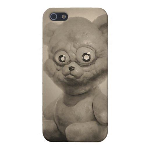 pretty bear in sepia covers for iPhone 5