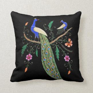 Pretty Birds And Flowers Throw Cushions