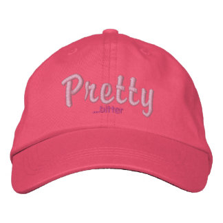 Pretty...bitter Embroidered Hats