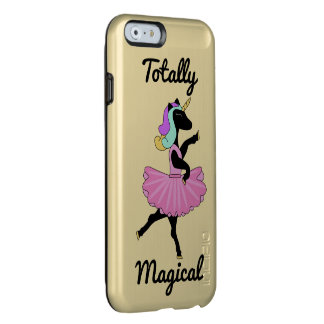 Pretty Black Unicorn Ballerina Dancing Iphone case