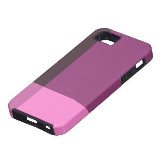 Pretty Blocks of Pink and Wine iPhone 5 Case