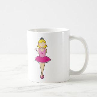 Pretty Blonde Ballerina Coffee Mug