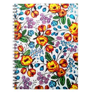 Pretty blossoms notebook