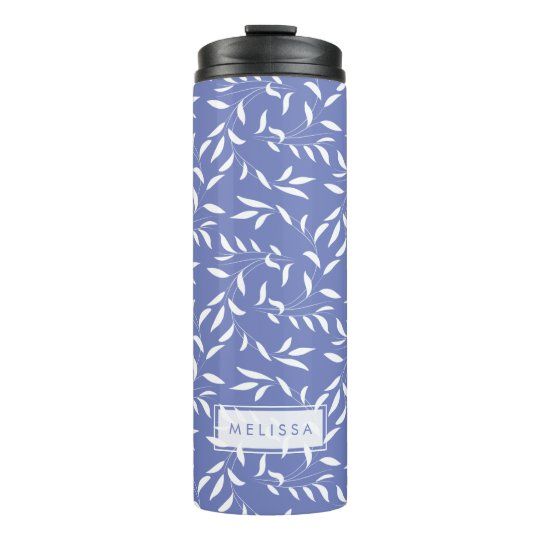 Pretty Blue and White Willow Garden Pattern Thermal Tumbler