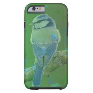 Pretty Blue Bird Green Iphone Case