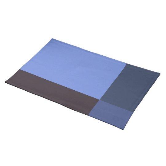 Pretty Blue Blocks Placemat