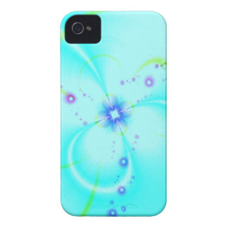 Pretty Blue Flower iPhone 4 Case