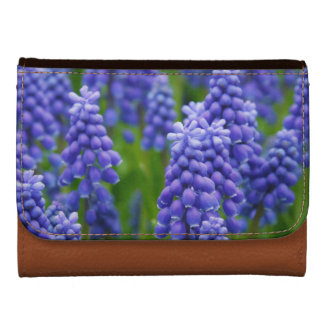 Pretty Blue Lupins Floral Wallets