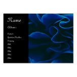 Pretty blue rose large business cards (Pack of 100)