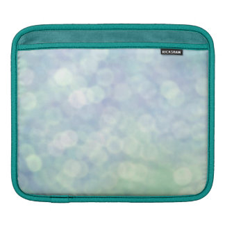 Pretty Blue Sparkly texture (matt) iPad Sleeve