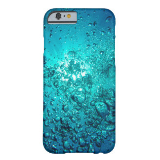 Pretty Blue Underwater Ocean Bubbles Phone Case
