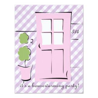 Pretty Blush Pink Door Personalized Invitations