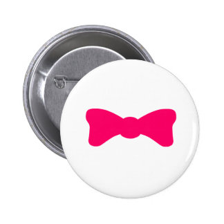 Pretty Bow 6 Cm Round Badge