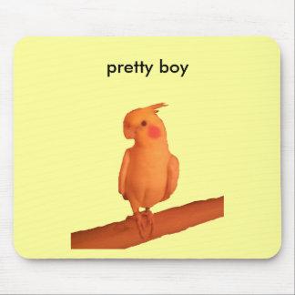 pretty boy mouse pad