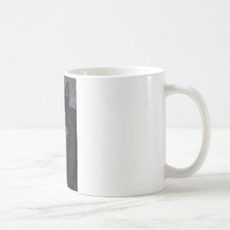 Pretty Boy Tuxedo Kitty Basic White Mug