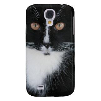 Pretty Boy Tuxedo Kitty Galaxy S4 Case