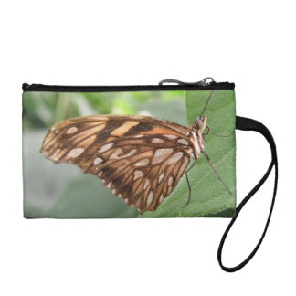 Pretty Brown Butterfly Bagettes Bag