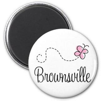 Pretty Brownsville Texas T-shirt 6 Cm Round Magnet