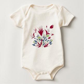 Pretty Bunch Of flowers Baby Bodysuit