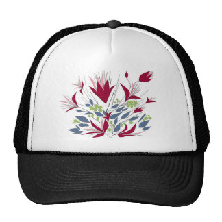 Pretty Bunch Of flowers Cap
