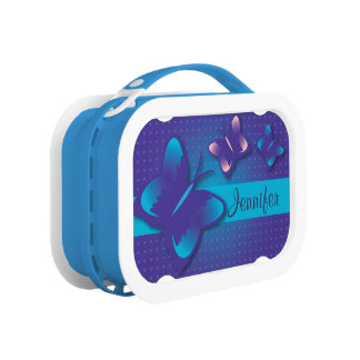 Pretty Butterflies Yubo Lunchbox
