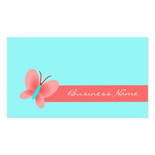 Pretty butterfly business cards zazzle for Butterfly business cards