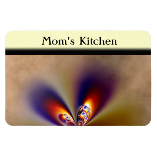 Pretty Butterfly Wings Rectangular Magnet