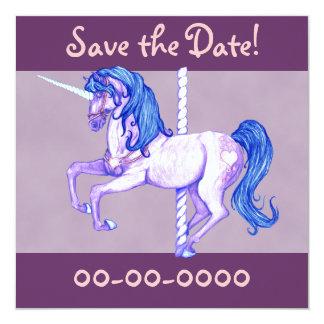Pretty Carousel Unicorn Announcements
