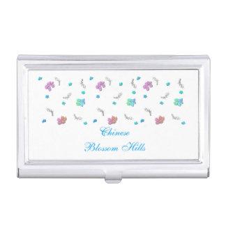 Pretty Cherry Blossom Flowers Business Card Holder