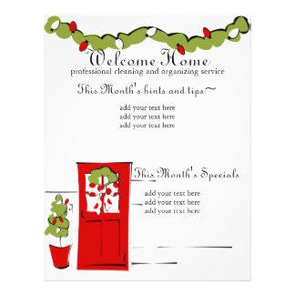 Pretty Christmas door 21.5 Cm X 28 Cm Flyer