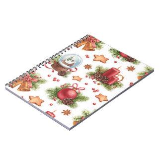 Pretty Christmas Notebook