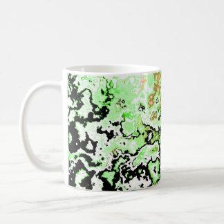 Pretty Classic Designer Green Spark Mug