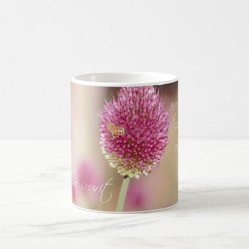 Pretty Clover Flower Mug