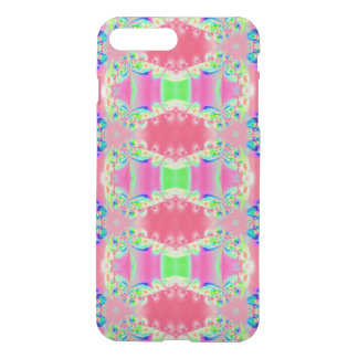 Pretty colorful pink pattern iPhone 7 plus case