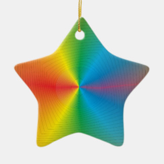 Pretty Colourful Star  > Christmas Ornaments