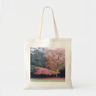 Pretty colours. Tree with pink leaves Tote Bag