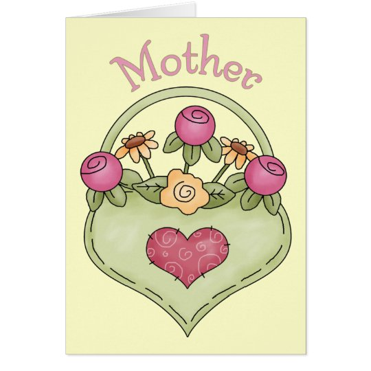 Pretty Country  Floral - Mother - All Occasion Card