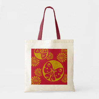 Pretty cute Butterfly pattern Budget Tote Bag