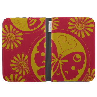 Pretty cute Butterfly pattern Kindle Cover