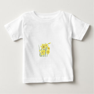 Pretty Daffodils Baby T-Shirt
