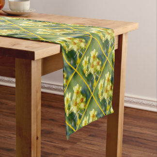 Pretty Daffodils, Narcissus 03.3 Short Table Runner
