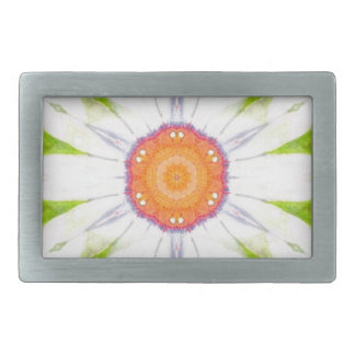 Pretty daisy design belt buckle