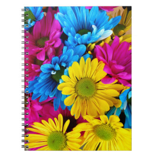 Pretty Daisy Flowers Colorful Petals Gifts Notebooks
