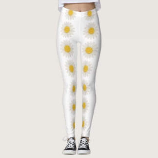 Pretty daisy leggings
